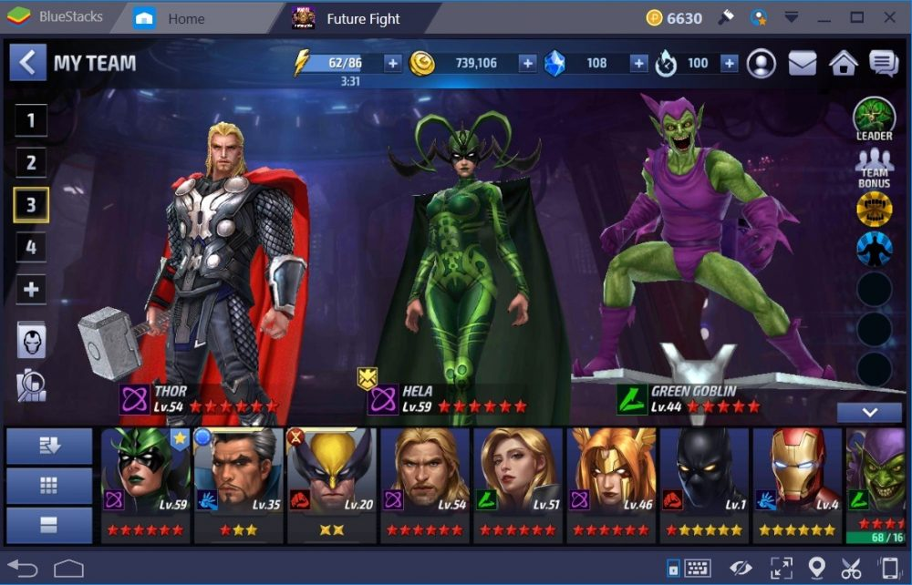 marvel future fight heroes