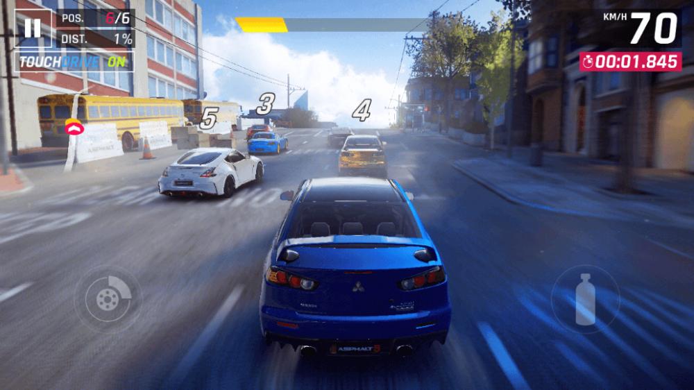 asphalt 9 legends gameplay